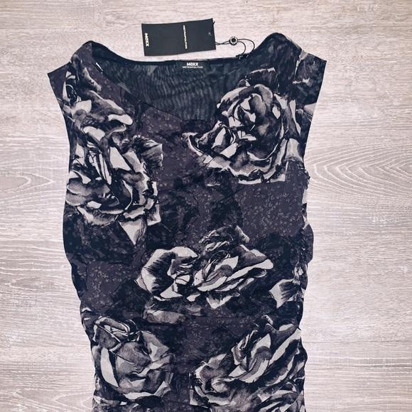 MEXX • dressy top • floral • brand new